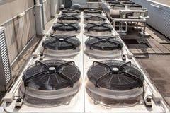 Het koelen airconditioning royalty-vrije stock fotografie