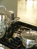 Het koken details Stock Fotografie