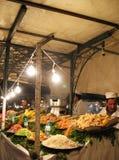 Het koken Markt in Marrakech royalty-vrije stock afbeelding