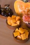 Het koken van de herfst Stock Afbeeldingen
