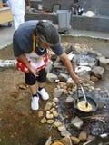 Het koken van het Brood royalty-vrije stock foto's