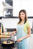 Het koken van het huis Stock Fotografie
