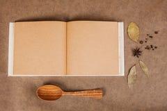 Het kokenboek royalty-vrije stock foto's