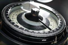 Het kompas van de close-up Stock Afbeeldingen