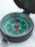 Het kompas van de hand Stock Fotografie