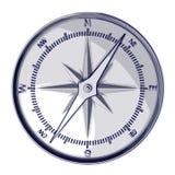 Het kompas van de schets Royalty-vrije Stock Afbeeldingen