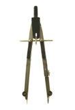 Het kompas van de tekening. Royalty-vrije Stock Foto