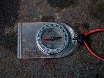 Het Kompas van de wandeling Royalty-vrije Stock Afbeeldingen