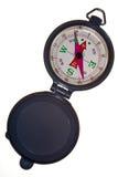 Het Kompas van de zak geheel Stock Foto