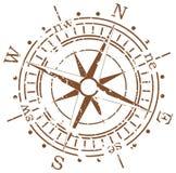 Het kompas van Grunge Royalty-vrije Stock Foto