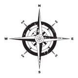Het kompas van Grunge Royalty-vrije Stock Foto's