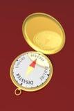 Het kompas van het succes royalty-vrije illustratie