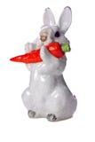 Het konijn van het glas Stock Fotografie