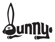 Het konijn van het konijntje Stock Afbeeldingen