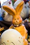 Het konijn van Pasen Stock Foto's