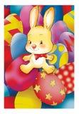 Het konijn van Pasen Royalty-vrije Stock Fotografie