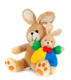 Het konijn van Peluche Stock Foto's
