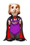 Het konijntjeskostuum van de vampier Royalty-vrije Stock Foto's