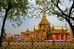 Het koninklijke Crematorium, BANGKOK, THAILAND Stock Fotografie