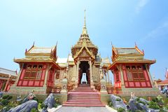 Het koninklijke crematorium (Mensen Phra) in koninklijke crem Stock Afbeeldingen