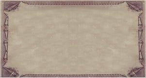 Het koninklijke document van het Perkament stock illustratie