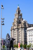Het koninklijke Gebouw van de Lever, Liverpool Royalty-vrije Stock Foto