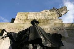 Het koninklijke Gedenkteken van de Artillerieoorlog, Londen, het UK, door Charles Sargeant Jagger Stock Foto
