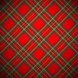 Het koninklijke geruite Schotse wollen stof van Stewart royalty-vrije illustratie