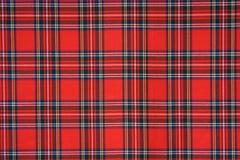 Het koninklijke geruite Schotse wollen stof van Stewart Royalty-vrije Stock Afbeeldingen