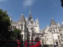 Het koninklijke hof van Londen stock foto