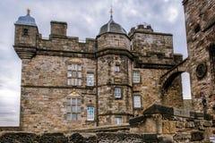 Het koninklijke Kasteel van Chmber Edinburgh stock foto's