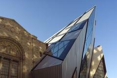 Het koninklijke Kristal van het Museum van Ontario Stock Afbeeldingen