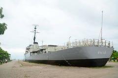 Het Koninklijke Marinefregat Stock Foto