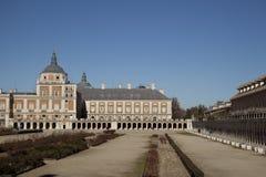 Het koninklijke paleis Stock Afbeeldingen