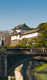 Het koninklijke paleis van Tokyo Stock Afbeelding