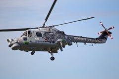 Het koninklijke Team ?Zwarte Katten? van de Vertoning van de Helikopter van de Marine Royalty-vrije Stock Foto