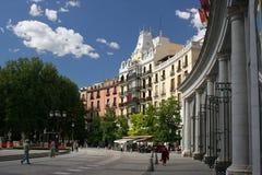 Het Koninklijke Vierkant van Madrid royalty-vrije stock foto's
