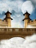 Het Koninkrijk van de fantasie vector illustratie