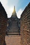 Het Koninkrijk van Sukhothai-het Historische Park van Si Satchanalai Stock Afbeelding