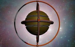Het koninkrijk van UFO Stock Afbeeldingen