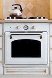 Het kooktoestel van de ketel en van het gas Stock Foto's
