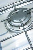 Het kooktoestel van het gasfornuis stock foto