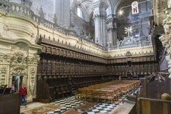 Het koor is één van grootst in Spanje Royalty-vrije Stock Afbeeldingen