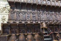 Het koor is één van grootst in Spanje aangezien het bestaat Stock Foto
