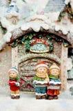 Het koor van Kerstmis van kinderen. Royalty-vrije Stock Fotografie