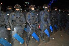 Het koord van de politieagent Stock Foto