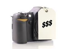 Het kopen van een Camera Stock Fotografie