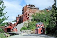 Het Kopermijn van Alaska - Kennicott-- Wrangell St Elias National Park en Domein Royalty-vrije Stock Afbeelding