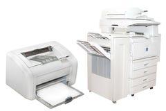 Het kopiëren machines Royalty-vrije Stock Afbeeldingen
