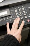 Het kopieerapparaat en de fax van de laser Stock Afbeelding